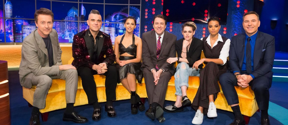 Robbie promocionado The Christmas Present en The Jonathan Ross Show