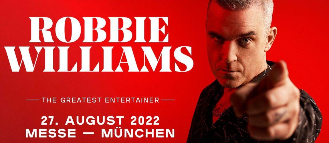 Robbie anuncia show en Alemania para el 2022